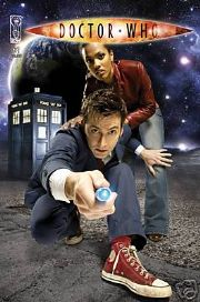 Doctor Who #1 2nd Print Photo Variant Non Distributed UK IDW
